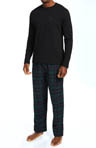 Tommy Hilfiger Sleep Top and Flannel Pant Gift Set 09T1057