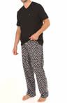 Tommy Hilfiger Sleep Top and Flannel Pant Gift Set 09T1060
