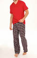 Sleep Top and Flannel Pant Gift Set Image