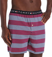 Tommy Hilfiger Striped Knit Boxer 09T1216