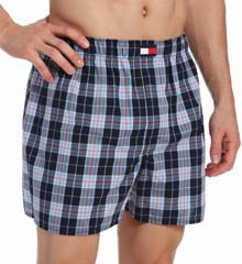 Tommy Hilfiger Woven Assorted Boxers - 4 Pack 09T1252