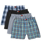 Tommy Hilfiger Woven Assorted Boxers - 4 Pack 09T1253