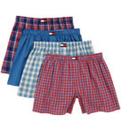 Tommy Hilfiger Woven Assorted Boxers - 4 Pack 09T1254