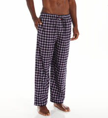 Tommy Hilfiger Flannel Sleep Pant Blue Plaid 09T1765