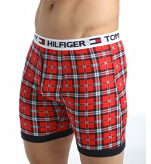 Tommy Hilfiger 09T249 Fashion 100% Cotton Boxer Briefs - 4 Pack