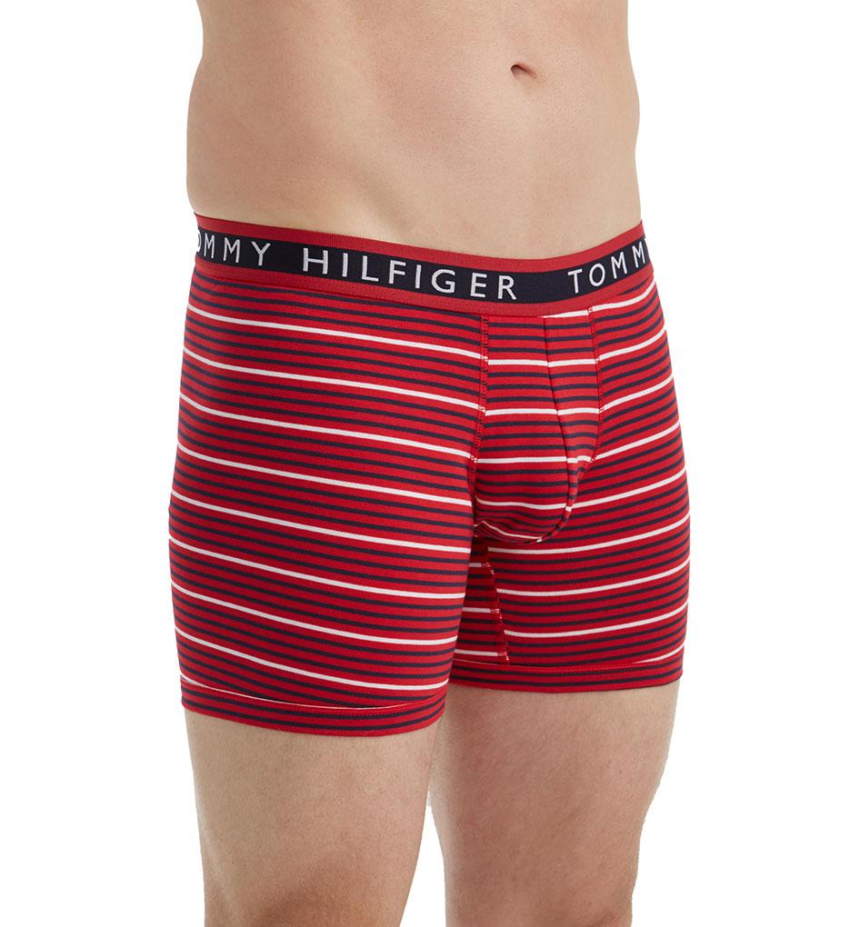 tommy hilfiger cotton stretch stripe boxer briefs 3 pack 09t2824 tommy hilfiger boxer briefs. Black Bedroom Furniture Sets. Home Design Ideas