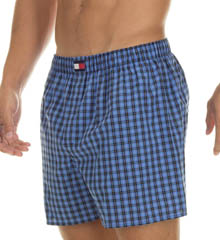 Tommy Hilfiger Big Woven Check Boxer - 2 Pack