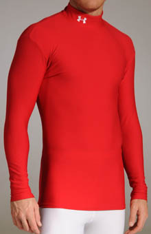 Under Armour 1000512 Coldgear Longsleeve Mock at Sears.com
