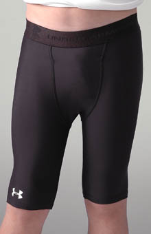 Under Armour 102127L Boys Long Compression Short with Cup Pocket at Sears.com