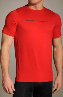 Under Armour 1217454 UA Heatgear Touch Fitted Shortsleeve Crew