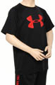 Under Armour Boys Big Logo Tech Tee 1228803