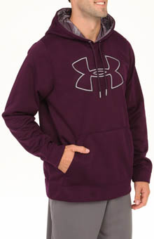 Under Armour Armour Fleece Storm Outline Big Logo Hoody 1240418