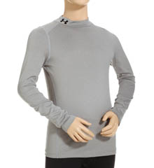Under Armour Boys ColdGear Evo Fitted Longsleeve Mock 1249117