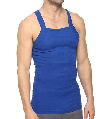 2xist Essentials Square Cut Tank - 2 Pack