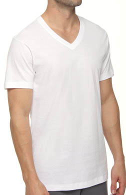 2xist Essentials V-Neck T-Shirt - 3 Pack