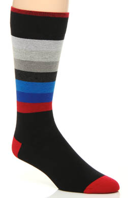 2xist Striped Cotton Dress Socks
