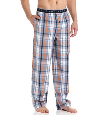 Boss Hugo Boss Cotton Plaid Long Sleep Pant
