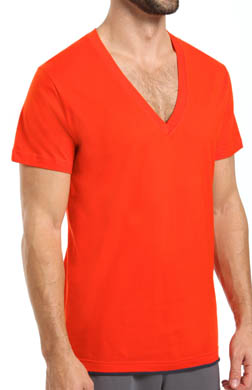 C-in2 Pop Color V-Neck Tee