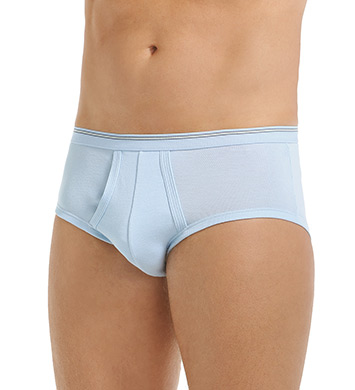 Calida Twisted Cotton Brief With Fly