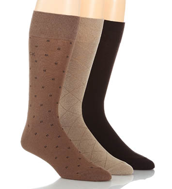 Calvin Klein Calvin Klein Fashion Geometric Sock 3 Pack