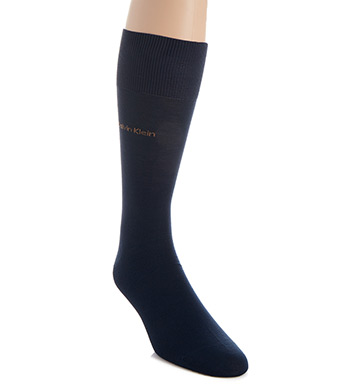 Calvin Klein Giza Cotton Flat Knit Crew Sock