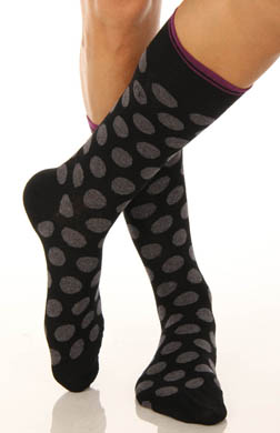 Calvin Klein Polka Dot Crew Sock
