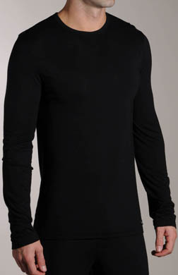 Calvin Klein Micro Modal Long Sleeve Crew Neck Top
