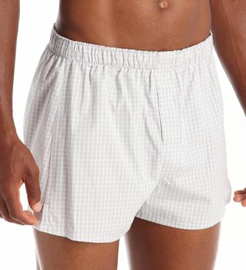 Calvin Klein Classic 100% Cotton Woven Boxer - 3 Pack