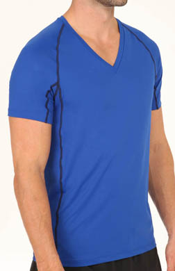 Calvin Klein Athletic Performance Mesh V-Neck T-Shirt