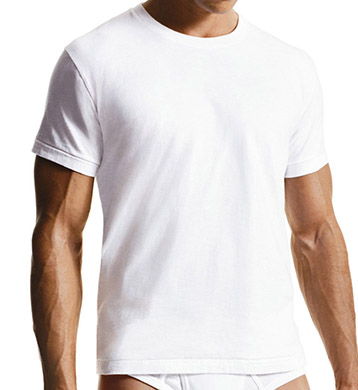 Calvin Klein Big Crew Neck T-Shirts - 2 Pack