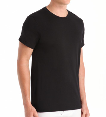 Calvin Klein Cotton Classic Short Sleeve Crew T-Shirts - 3 Pack