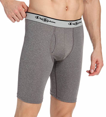Champion Tech Performance Athletic Fit 9 Long Boxer Brief