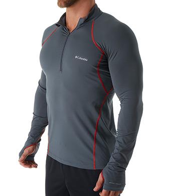 Columbia Omni Heat Midweight Stretch Long Sleeve Half Zip