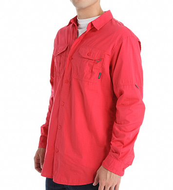 Columbia Pine Park 100% Cotton Long Sleeve Shirt