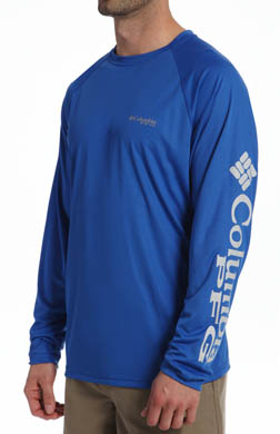 Columbia PFG Terminal Tackle Omni-Wick Long Sleeve Tee
