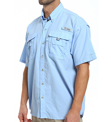 Columbia Bahama II Quick Dry Omni-Shade Short Sleeve Shirt