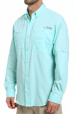 Columbia PFG Tamiami II Omni-Shade Longsleeve Shirt