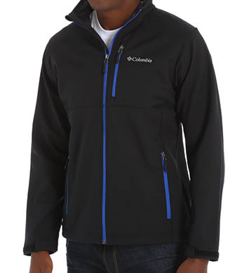 Columbia Ascender Soft Shell Water Resistant Jacket