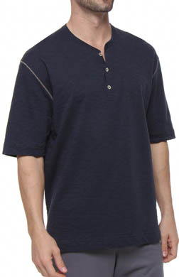 Dockers Slub Terry Short Sleeve Henley
