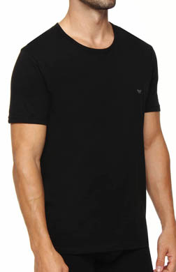 Emporio Armani 100% Cotton Crewneck T-Shirts - 3 Pack