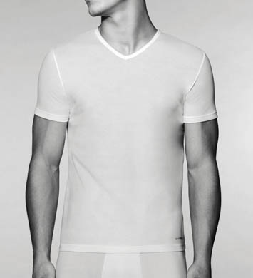 Emporio Armani Cotton V-Neck T-Shirt 3 Pack