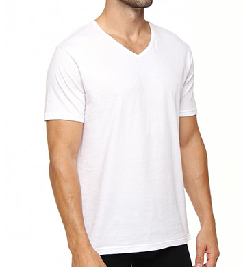 Emporio Armani Essentials Genuine 100% Cotton V-Neck - 3 Pack