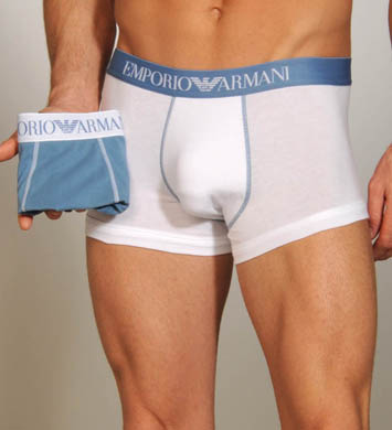 Emporio Armani Stretch Cotton 2 Pack Trunk