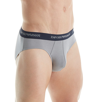 Emporio Armani Essentials Stretch Cotton Brief - 2 Pack