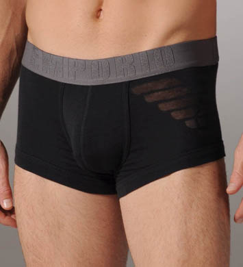 Emporio Armani Eagle Stretch Cotton Trunk