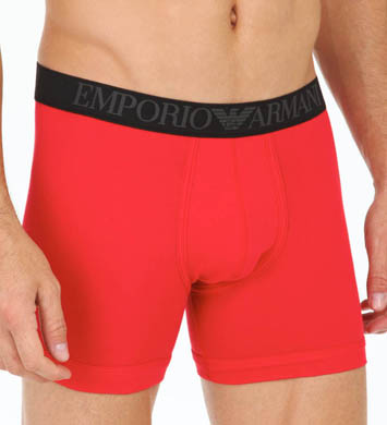 Emporio Armani Colored Stretch Cotton Boxer Briefs