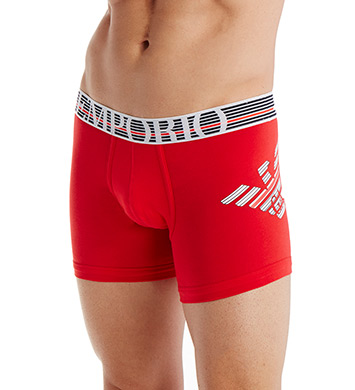 Emporio Armani Fancy Back To The 90's Cotton Stretch Boxers