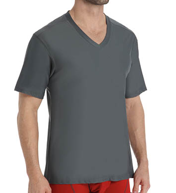 Ex Officio Give-N-Go V-Neck T-Shirt-DNAYET