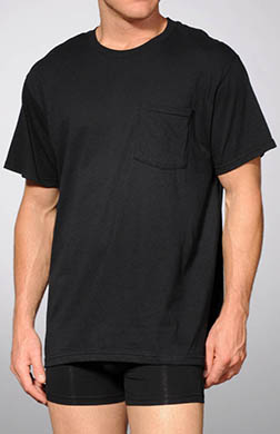 Fruit Of The Loom Pocket T-Shirts - 4 Pack