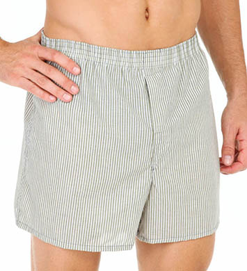 Fruit Of The Loom Low Rise Tartan Plaid Woven Boxers - 3 Pack